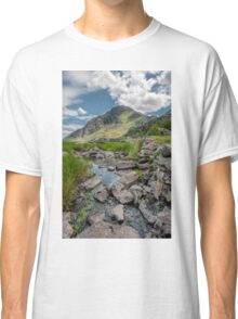 Face of Tryfan Classic T-Shirt