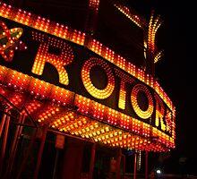 Fun fair Rotor by Paul Revans