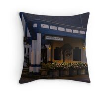 The Station-Pure Art   McMinnville Tennesseee Throw Pillow