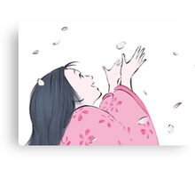 Princess Kaguya Canvas Print