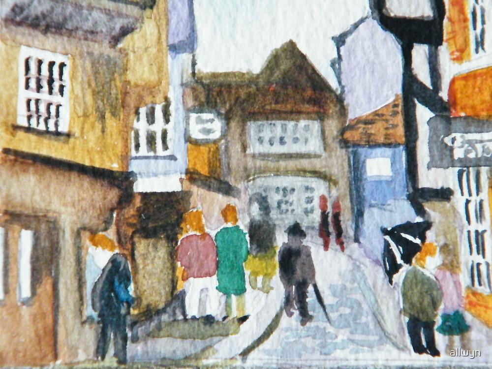 The Streets of York by allwyn