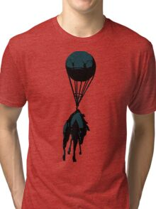 Flying horse Tri-blend T-Shirt