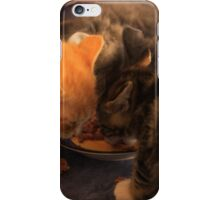 Lunch for Kittens iPhone Case/Skin