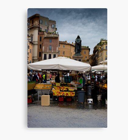 Campo Di Fiori Canvas Print