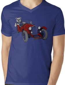 AlfaDog Mens V-Neck T-Shirt