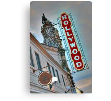 Hollywood Theater Neon Sign, Portland, OR Canvas Print