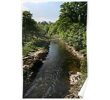 River Dart-Buckfastleigh Devonshire UK Poster
