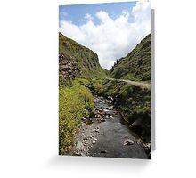 Glen Maye, Isle Of Man Greeting Card