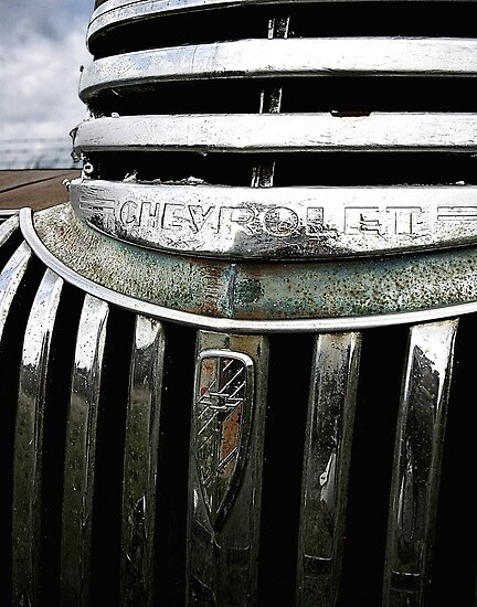 Chevy Grill by Benjamin Sloma