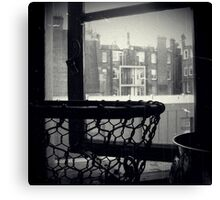 Bathroom Window Canvas Print