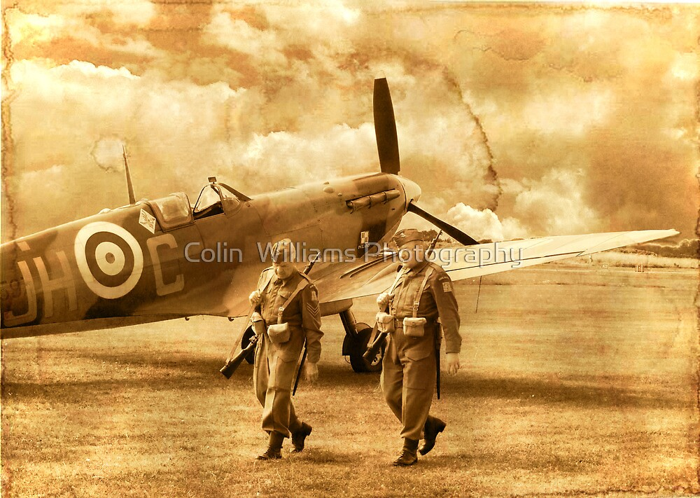 Tea Break I Think!  - 1940 by Colin  Williams Photography