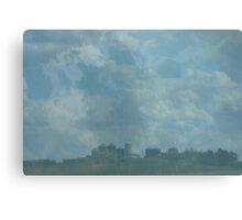 Rain Storm on The Prairies Canvas Print