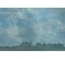 Rain Storm on The Prairies Photographic Print