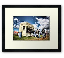Elite Burgers Framed Print