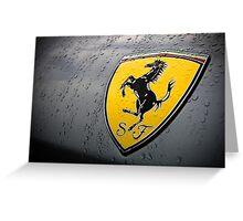 Ferrari Greeting Card