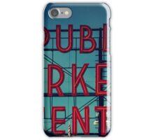 Pike Place Market Seattle Washington iPhone Case/Skin