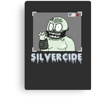 Silvercide- The Gumball (With Name) Canvas Print