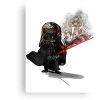 """ Lord Vader Reminiscing"" Canvas Print"