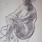 Woman by arlenecalamaya
