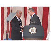 Vice President Joseph R. Biden Jr. and The Honorable William J. Lynn, III Poster