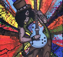 The Guitar Man by Spencer Holdsworth Art