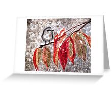 The First Snow Greeting Card