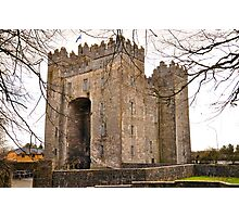 Bunratty Castle Photographic Print