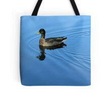Blue Luxury Tote Bag