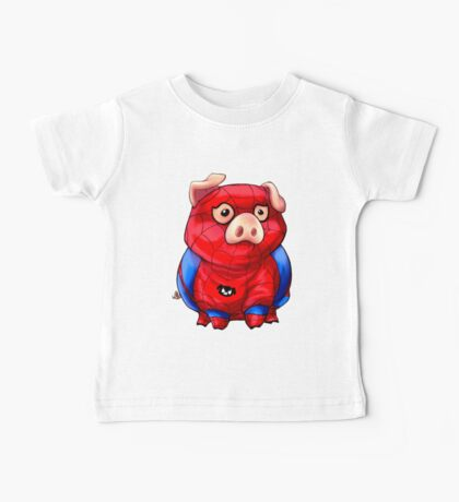 Spider-Pig Baby Tee