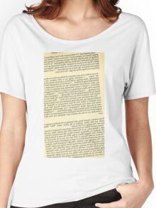Reversed Killer Text Women's Relaxed Fit T-Shirt