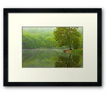 Osbornedale Green Framed Print