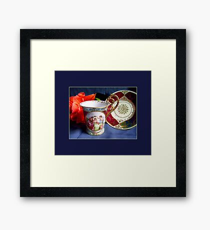 Demitasse, Germany Framed Print