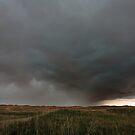 Hail core dumping in Nebraska by Mike Olbinski