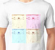 Warhol Vitruvian Man Unisex T-Shirt