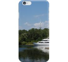 Cruising Among the Toronto Islands  iPhone Case/Skin