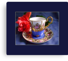 Demitasse, Bavaria Canvas Print