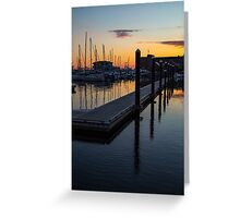 Newports Dusk Greeting Card
