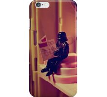 the force is strong with this one iPhone Case/Skin