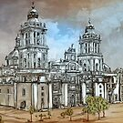 Mexico City Metropolitan Cathedral. by andy551