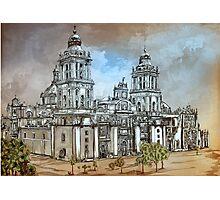 Mexico City Metropolitan Cathedral. Photographic Print