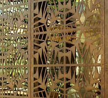 Wright Design in Iron by Martha Andreatos
