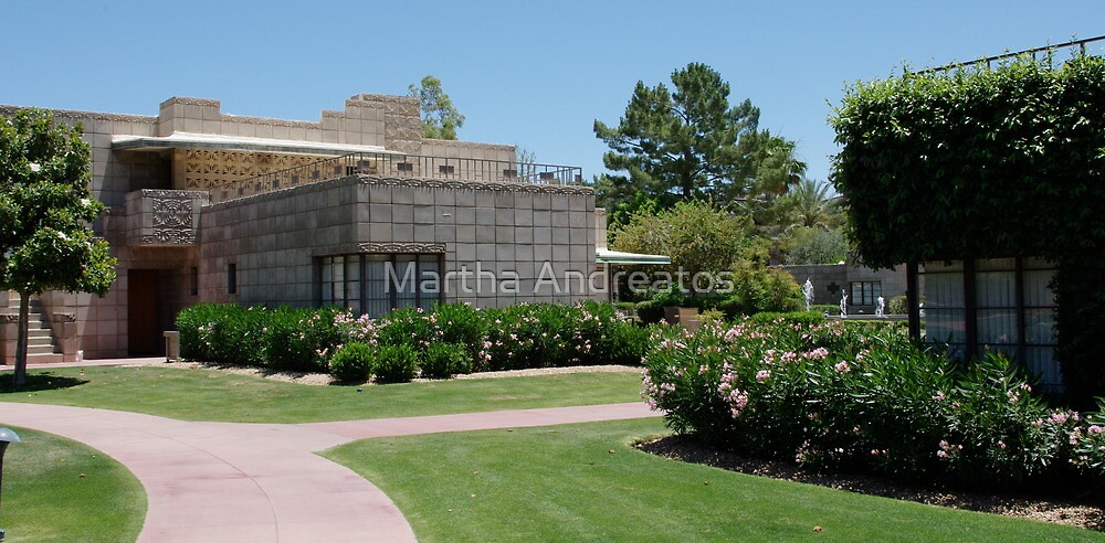 Architecture of Frank Lloyd Wright by Martha Andreatos