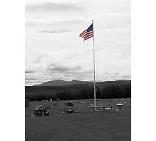 I Pledge Allegiance to the Flag Photographic Print