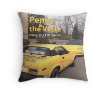 Miss Penny Lane made a cover... She's a model. Throw Pillow