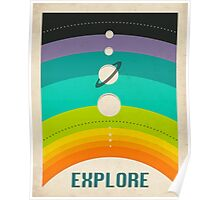 THE SOLAR SYSTEM Poster