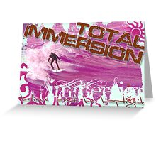 Total Immersion - In the Pink Greeting Card