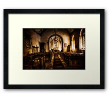 Beercrocombe Church Framed Print