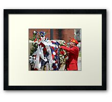 Marine Rememberance Framed Print