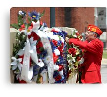 Marine Rememberance Canvas Print