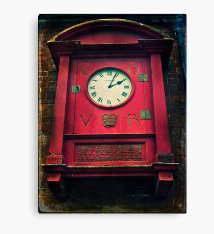 The Old Post Office Clock Canvas Print